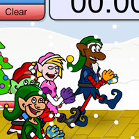 Christmas Elf Race