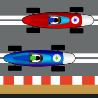 Slot Car Race Timer