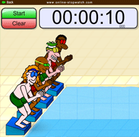 Car Race Online Stopwatch